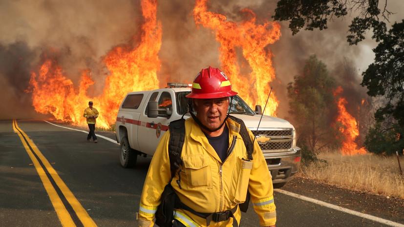 Пожары в Калифорнии уничтожили более 1400 зданий с 15 августа