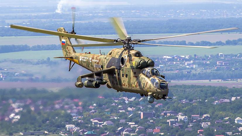 Обновлённый «Крокодил»: какими возможностями обладает российский экспортный вертолёт Ми-35П