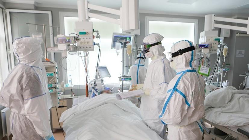 В России за сутки умерли 115 пациентов с коронавирусом