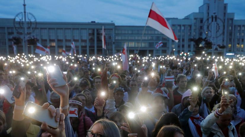 Генсек НАТО прокомментировал протесты в Белоруссии