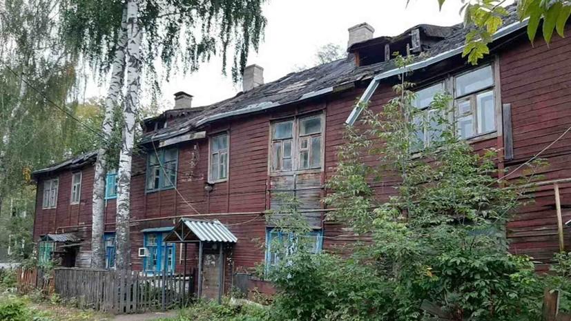 В Нижнем Новгороде произошло частичное обрушение жилого дома