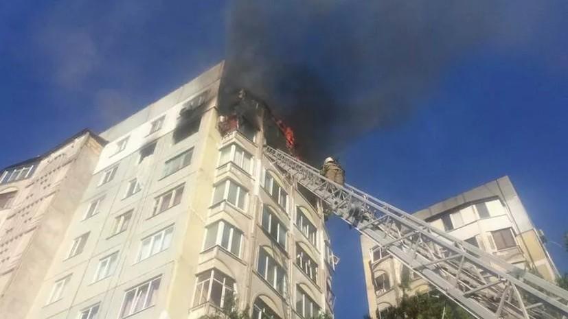 Пожар в жилом доме в Керчи потушен