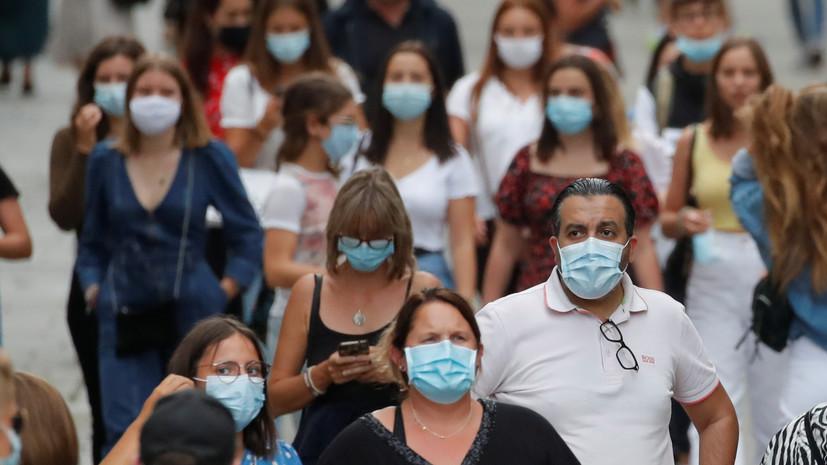 Во Франции за сутки выявили более пяти тысяч случаев коронавируса