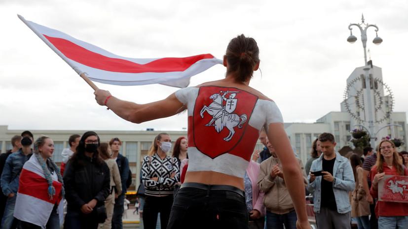 Задержания без применения силы: как прошла акция протеста в центре Минска