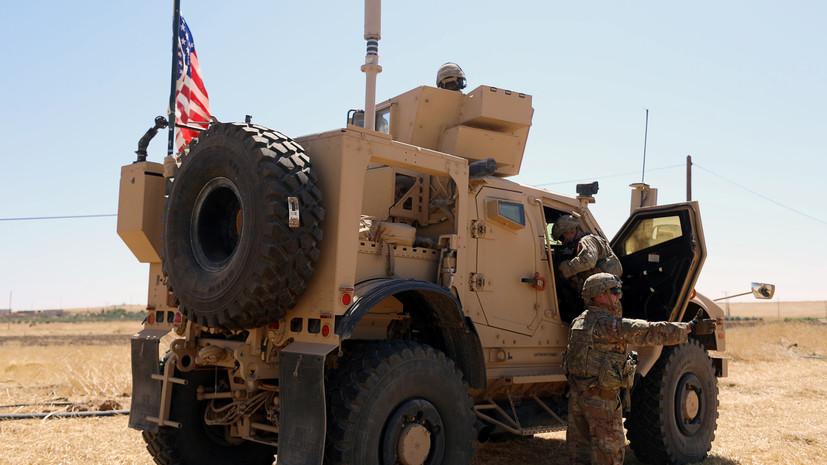 В Минобороны объяснили инцидент между военными России и США в Сирии
