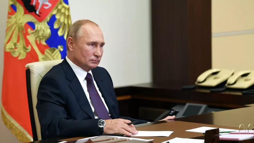 Путин даст большое интервью по актуальным темам