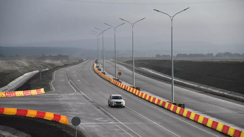 Путин проехал по открывшейся в Крыму трассе «Таврида»