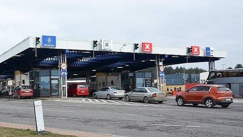 В Белоруссии на таможне задержан грузовик с якобы гуманитарной помощью из Польши
