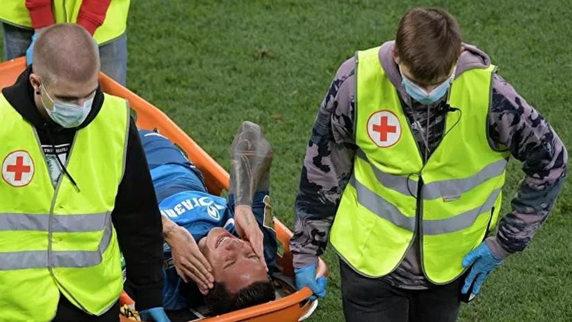 СМИ: Дриусси пропустит четыре-шесть недель из-за травмы