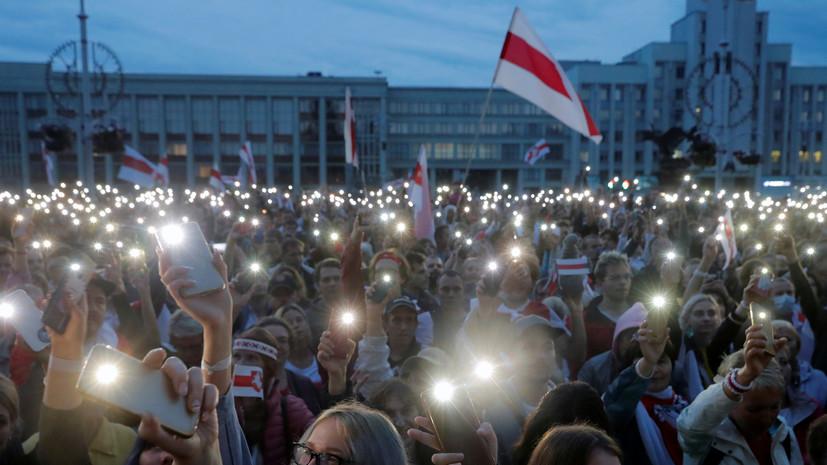 Оппозиция Белоруссии отреагировала на слова Путина о резерве силовиков