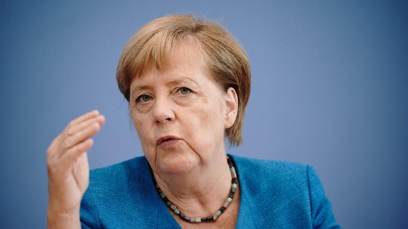 Меркель надеется, что российских силовиков не задействуют в Белоруссии