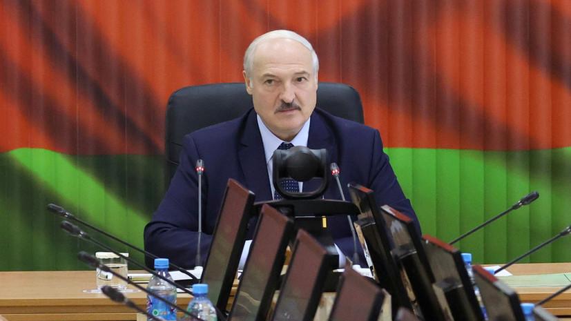 Лукашенко заявил о переброшенных к границам Белоруссии самолётах НАТО