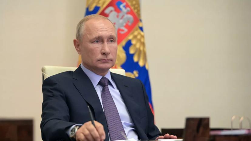 Путин положительно оценил меры в Татарстане по борьбе с коронавирусом