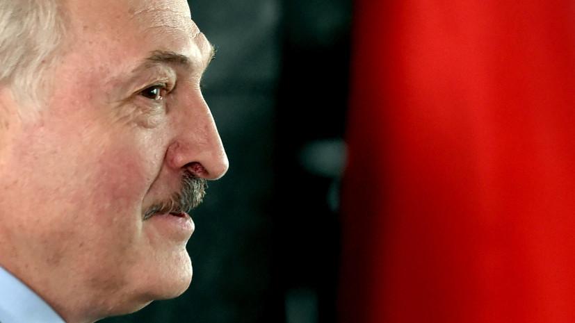 В Литве прокомментировали заявление Лукашенко об ответных санкциях