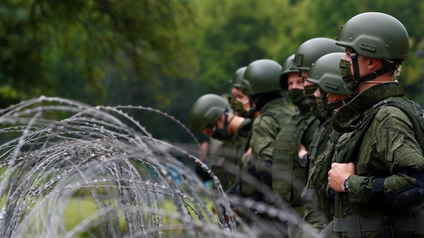 МВД Белоруссии назвало число задержанных на акциях 28 августа
