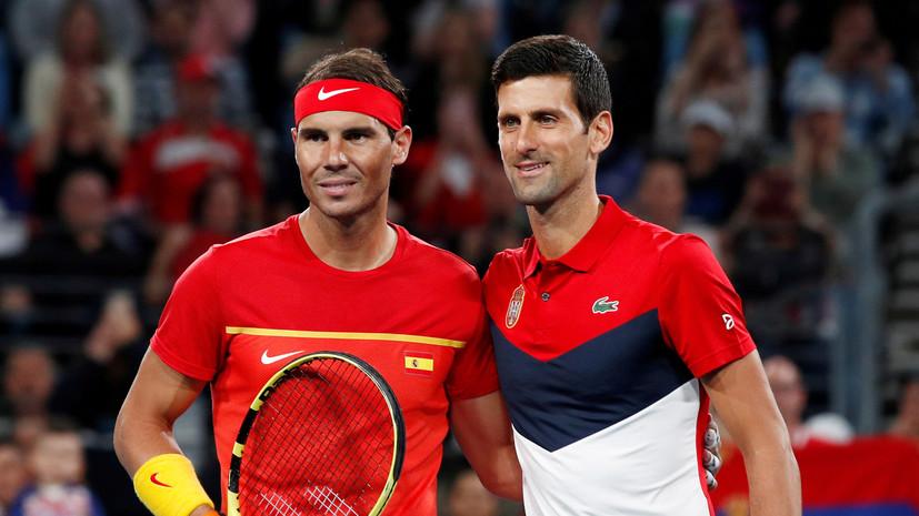 Надаль высказался об инициативе Джоковича создать новую ассоциацию теннисистов