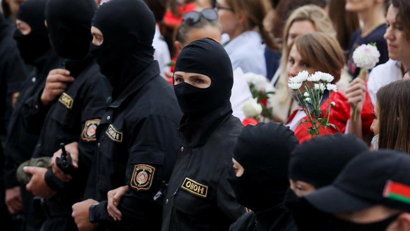 В Минске милиция начала задерживать протестующих
