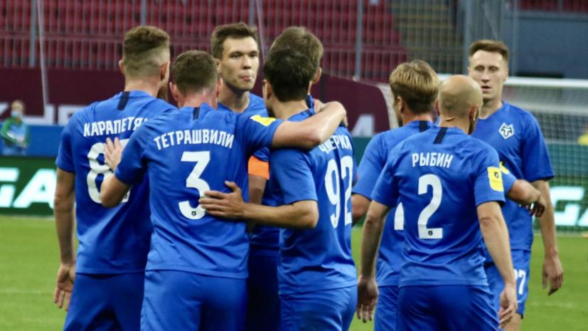 «Рубин» сыграл вничью с «Тамбовом» в матче РПЛ