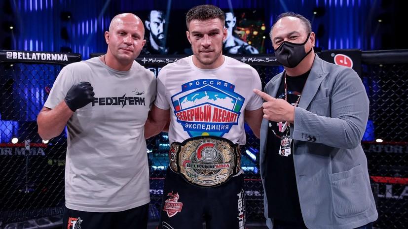 «Бейдер сам перешёл нам дорогу»: Немков о завоевании титула, мести за Емельяненко и возможности ухода в UFC