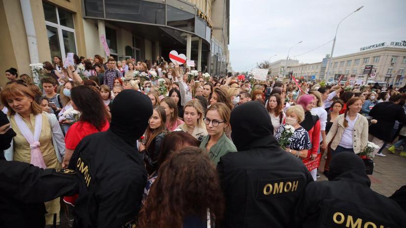 Глава МВД Белоруссии рассказал о пострадавших на протестах силовиках