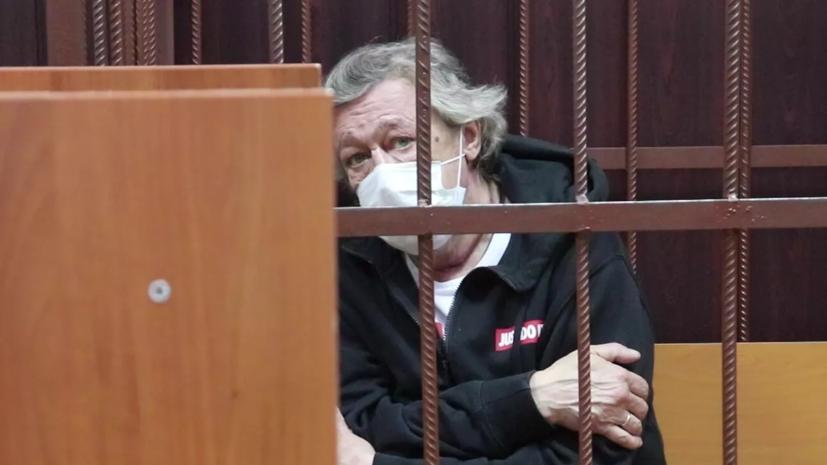 Ефремов привлекался к ответственности за хулиганство