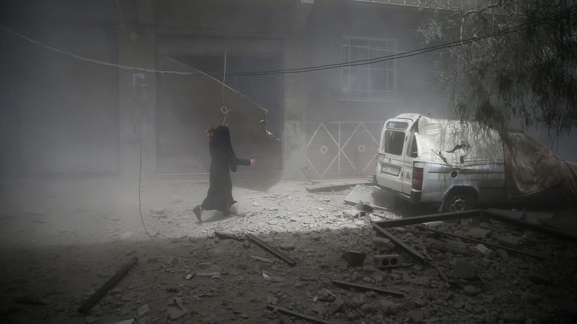 SANA сообщило о гибели двух человек при ракетной атаке вблизи Дамаска