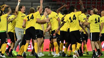 «Янг Бойз» стал чемпионом Швейцарии третий раз подряд
