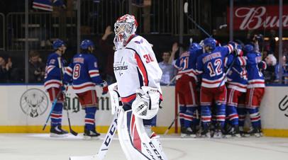 Вратарь «Вашингтона» Самсонов получил травму в России вне льда, скрыв это от клуба