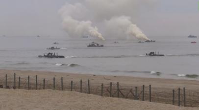 «Океанский щит — 2020»: в Балтийском море прошли учения ВМФ