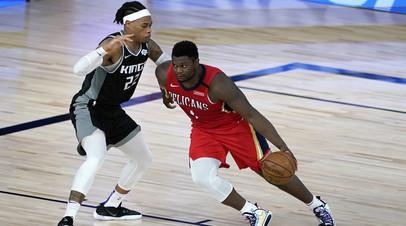 «Сакраменто» прервал серию поражений в НБА, победив «Нью-Орлеан»