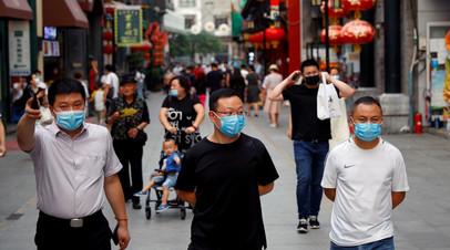 За сутки в КНР выявлен 31 новый случай заболевания коронавирусом
