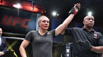 Российская девушка-боец UFC Яна Куницкая