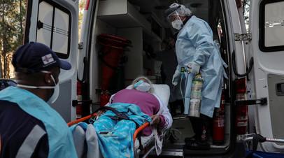 В Бразилии выявили более 22 тысяч случаев коронавируса за сутки