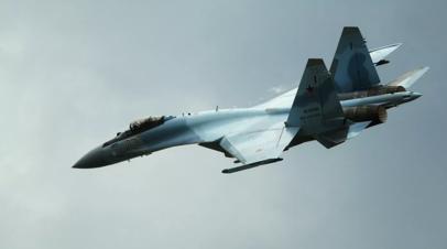 Минобороны закупит новую партию истребителей Су-35С на 70 млрд рублей