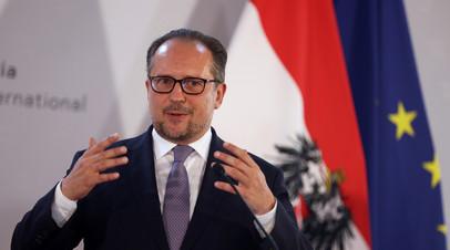 Глава МИД Австрии заявил о нежелании «отталкивать» Белоруссию к России