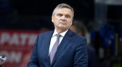 Глава IIHF высказался о ситуации вокруг предстоящего в 2021 году ЧМ по хоккею в Минске