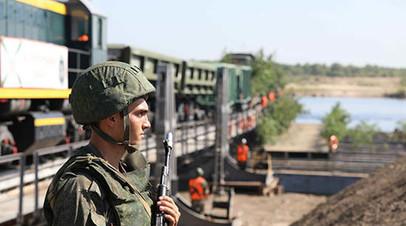 В Амурской области провели учения железнодорожных войск
