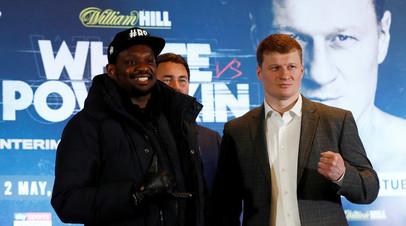 На кону боя Поветкин — Уайт будет стоять почётный пояс WBC