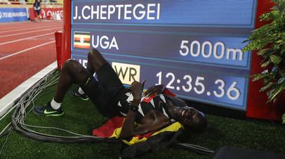 Чептегеи установил новый мировой рекорд в беге на 5000 м
