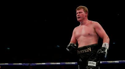 Неожиданная развязка: Поветкин нокаутировал Уайта и стал временным чемпионом мира по версии WBC