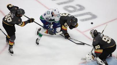 «Вегас» разгромил «Ванкувер» и повёл в серии плей-офф НХЛ