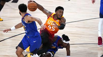«Юта» обыграла «Денвер» в матче плей-офф НБА благодаря 51 очку Митчелла