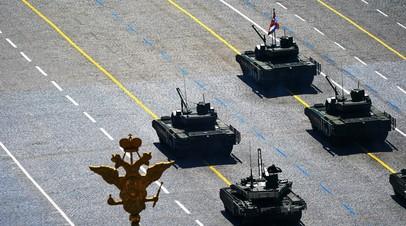 В Минобороны рассказали о перспективном двухзвенном танке