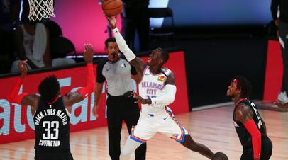«Оклахома» победила «Хьюстон» и сравняла счёт в серии плей-офф НБА