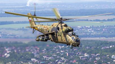 Транспортно-боевой вертолёт Ми-35П
