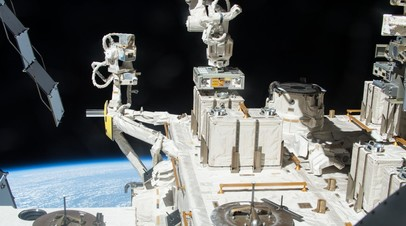 Внешний японский исследовательский экспериментальный модуль KIbo на Международной космической станции