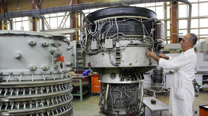 Цех завода «Мотор Сич»