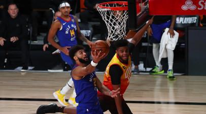 50 очков Маррея помогли «Денверу» обыграть «Юту» и сравнять счёт в серии плей-офф НБА