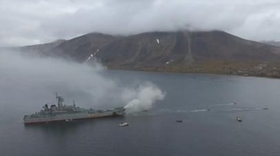 Морпехи Тихоокеанского флота десантировались на Чукотке в рамках учений «Океанский щит»