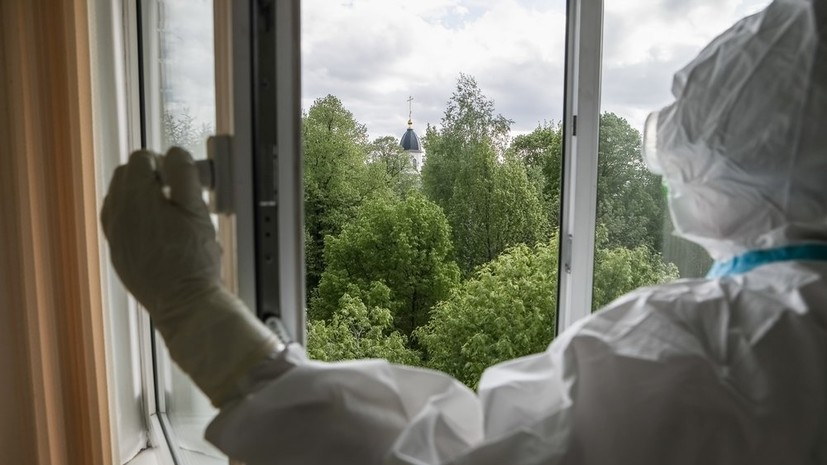 В России за сутки умерли 123 пациента с коронавирусом